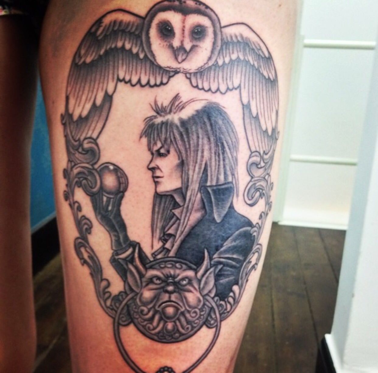 Labyrinth tattoo   tattoos   Pinterest   Tattoo, Tatting ... Labyrinth Movie Tattoo