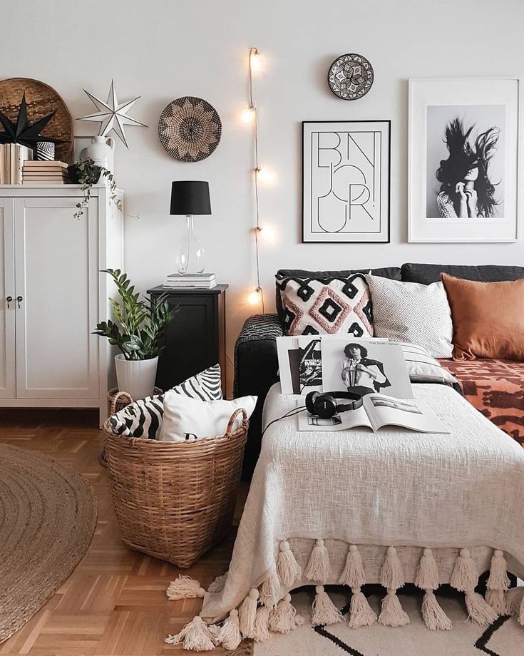 "Monochrome | Scandi | Cozy on Instagram: ""Bonjour! Hope you're having a great time � I've been looking for a lamp for my dresser and I think I've found the right one � Enjoy your…"""