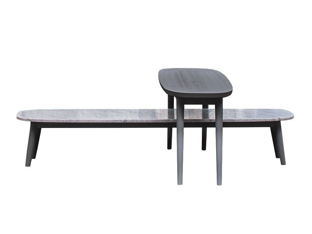 Wood And Marble Oval Coffee Table Brick 247 248 By Gervasoni Design Paola Navone Coffee Table Table Oval Coffee Tables [ 788 x 1051 Pixel ]