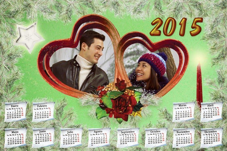 Recursos Photoshop Llanpac: Calendario del 2015 de Navidad para Photoshop (Psd...