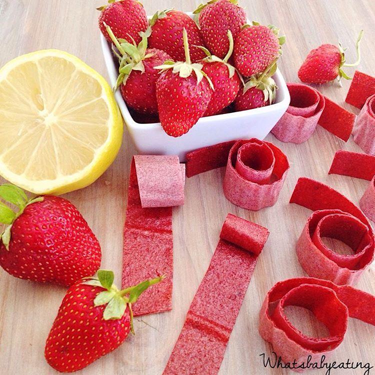 Brigitte Rezepte De rezept fruchtleder gesunde nascherei aus 2 zutaten zutaten