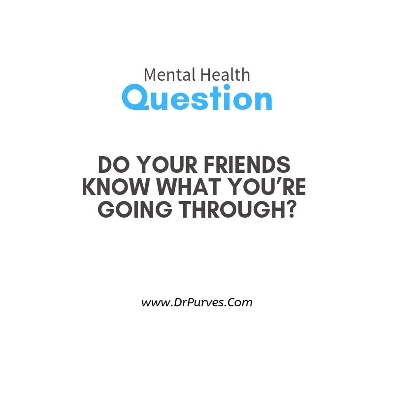 Pin on mental health question