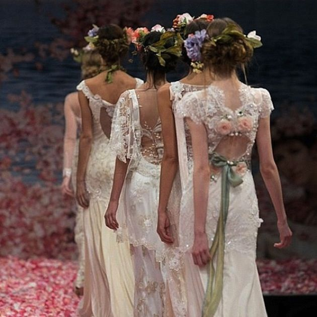 Claire Pettibone Wedding Dress Collection Fall 2013 | Dress ...