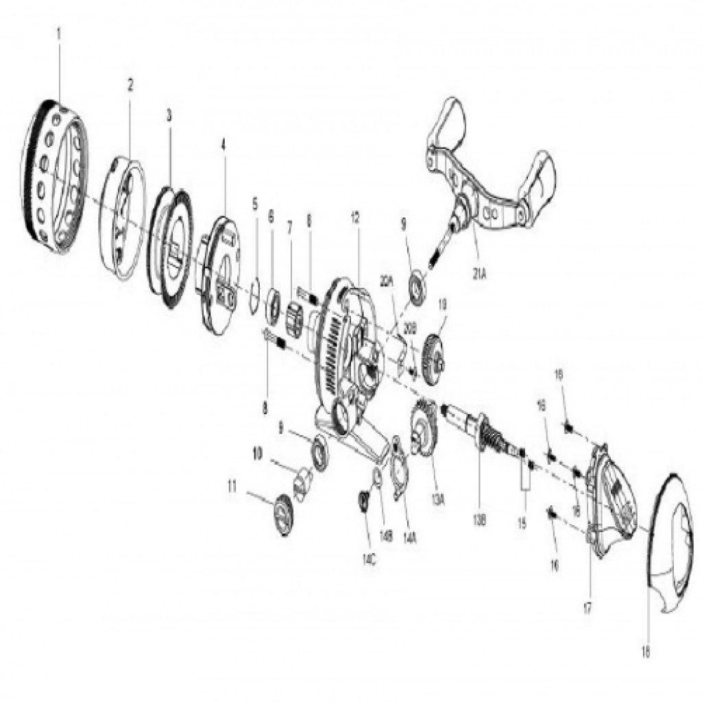 Zebco 202 Schematic Diagram Wiring Omega