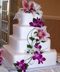 Hochzeitstorte Aussergewohnlich Lilien Hochzeitstorte