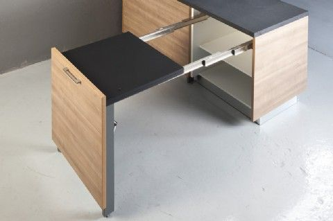 Merveilleux Evolution Pull Out Table Extension Leaf | Buy Online | BOX15