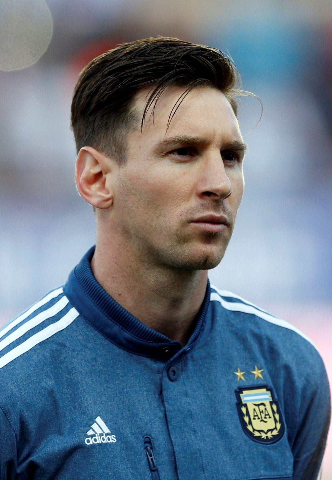 Corte De Messi : corte, messi, Lionel, Messi, America, Argentina, Paraguay., Messi,, Caras, Futebol,, Cabelo