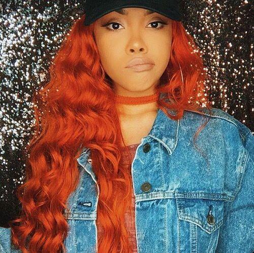 Khayanderson Hair Hair Hair Red Orange Hair Hair
