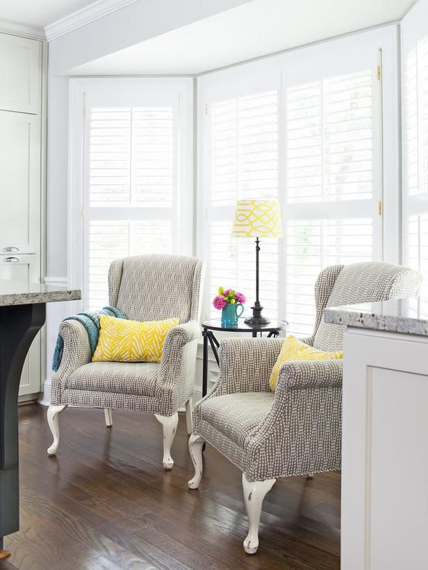 Reading Nook A Kitchen Designed With