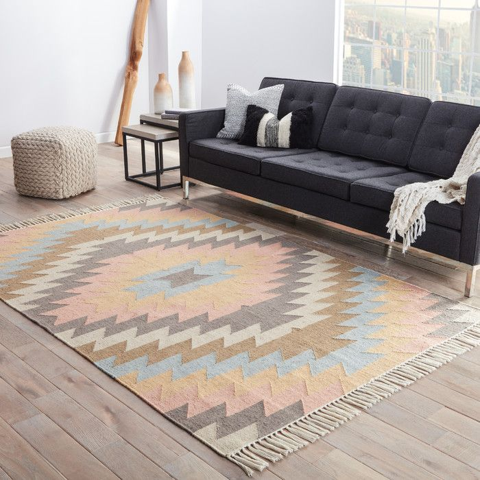 Anchor your aesthetic in effortless style with this rug, perfect