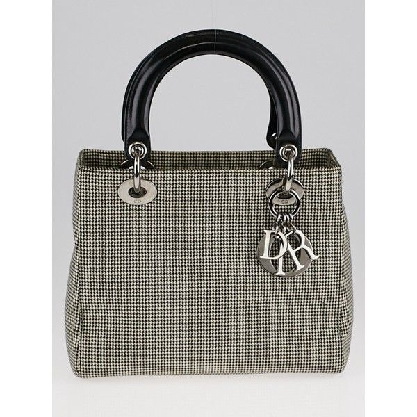 Dior Pre-owned - Lady Dior cloth handbag EUVI4