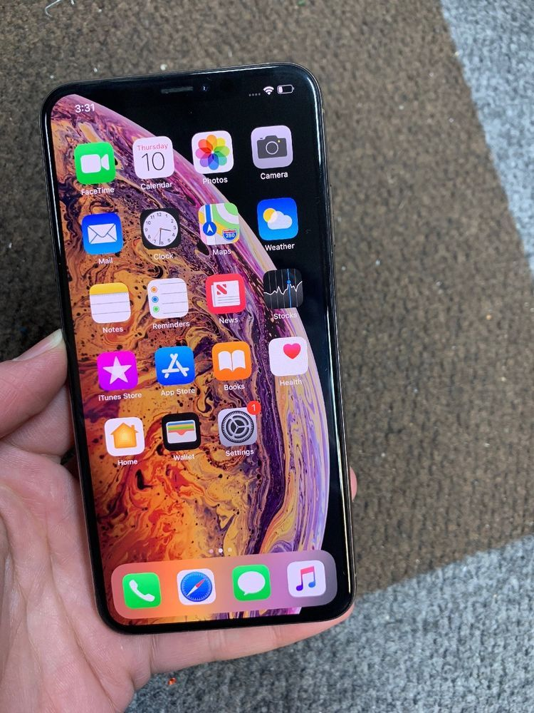 Apple iPhone XS Max 256GB Gold (AT&T) A1921 UNPAID
