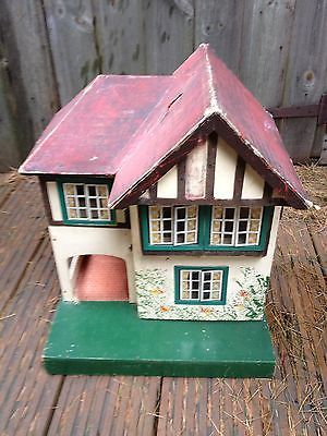 vintage triang no 60 dolls house from the 1940s or 50s cute little Metal Doll House vintage triang no 60 dolls house from the 1940s or 50s cute little house rick maccione dollhouse builder dollhousemansions