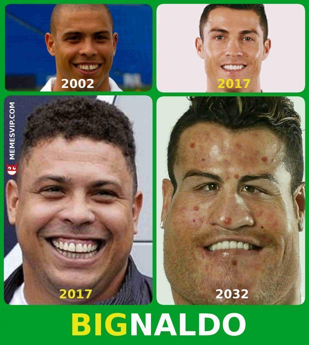 Meme Ronaldo Nazario Vs Cristiano Ronaldo 2018 2019 Detodo