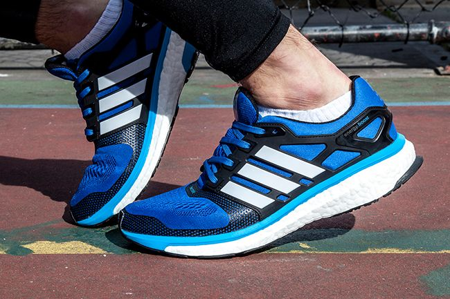 adidas energy boost black blue