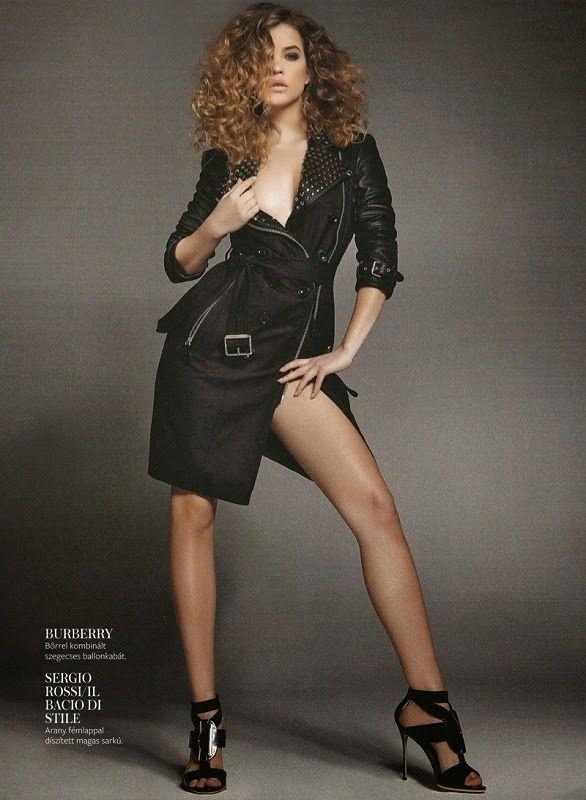 Fantasy Fashion Design: Barbara Palvin con nuevo peinado posa para InStyle...