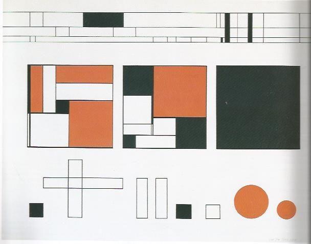 K P Röhl 26 composition abstraite