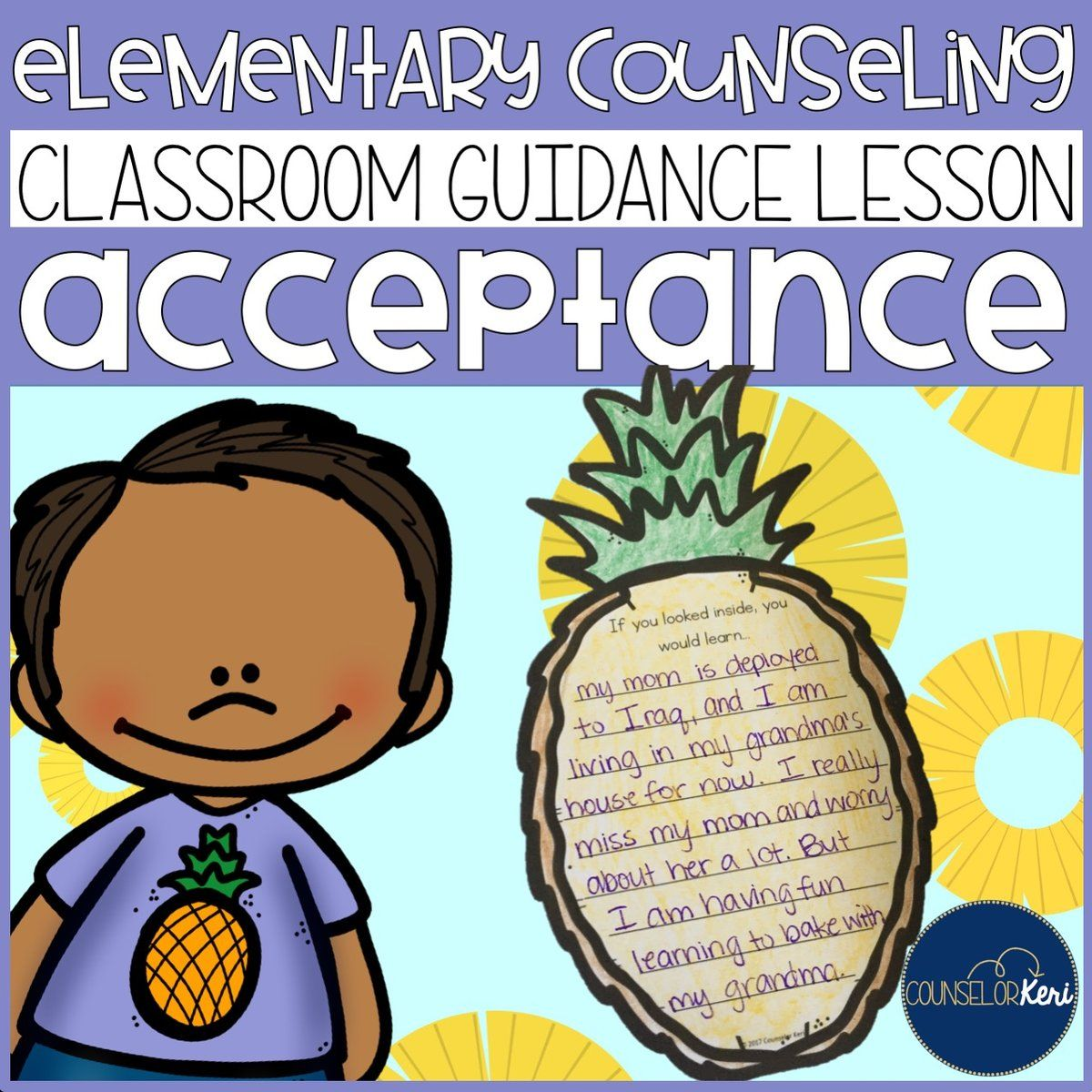 Acceptance Classroom Guidance Lesson For Elementary School