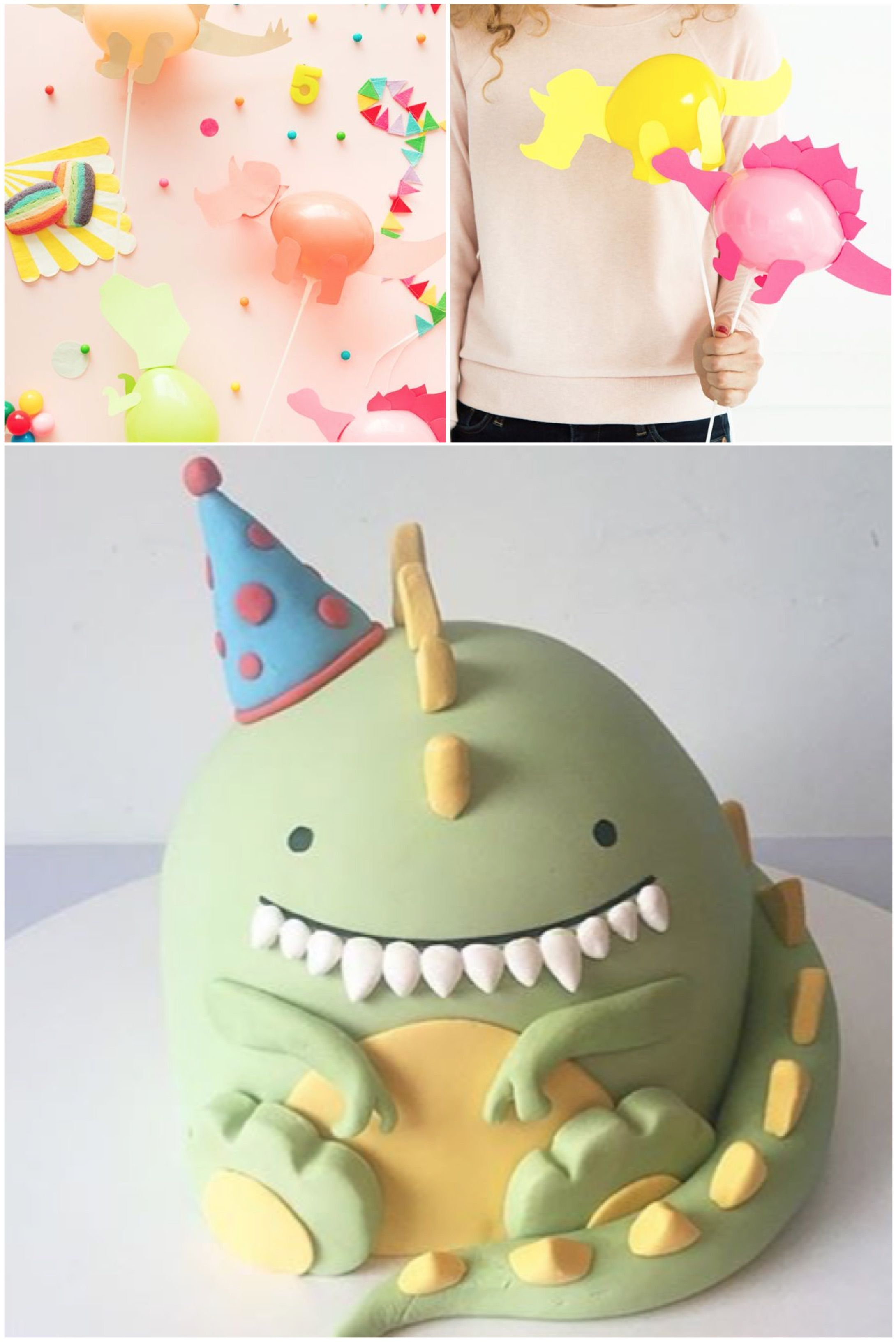 mommo design CAKES AND BALLOONS Children ☆ Pinterest
