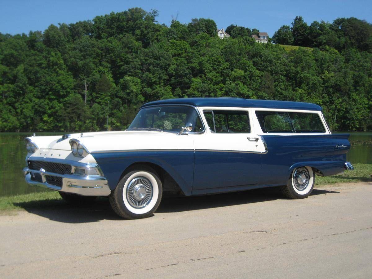 1958 Ford Ranch Wagon 2 Door Station Wagon 292 V8