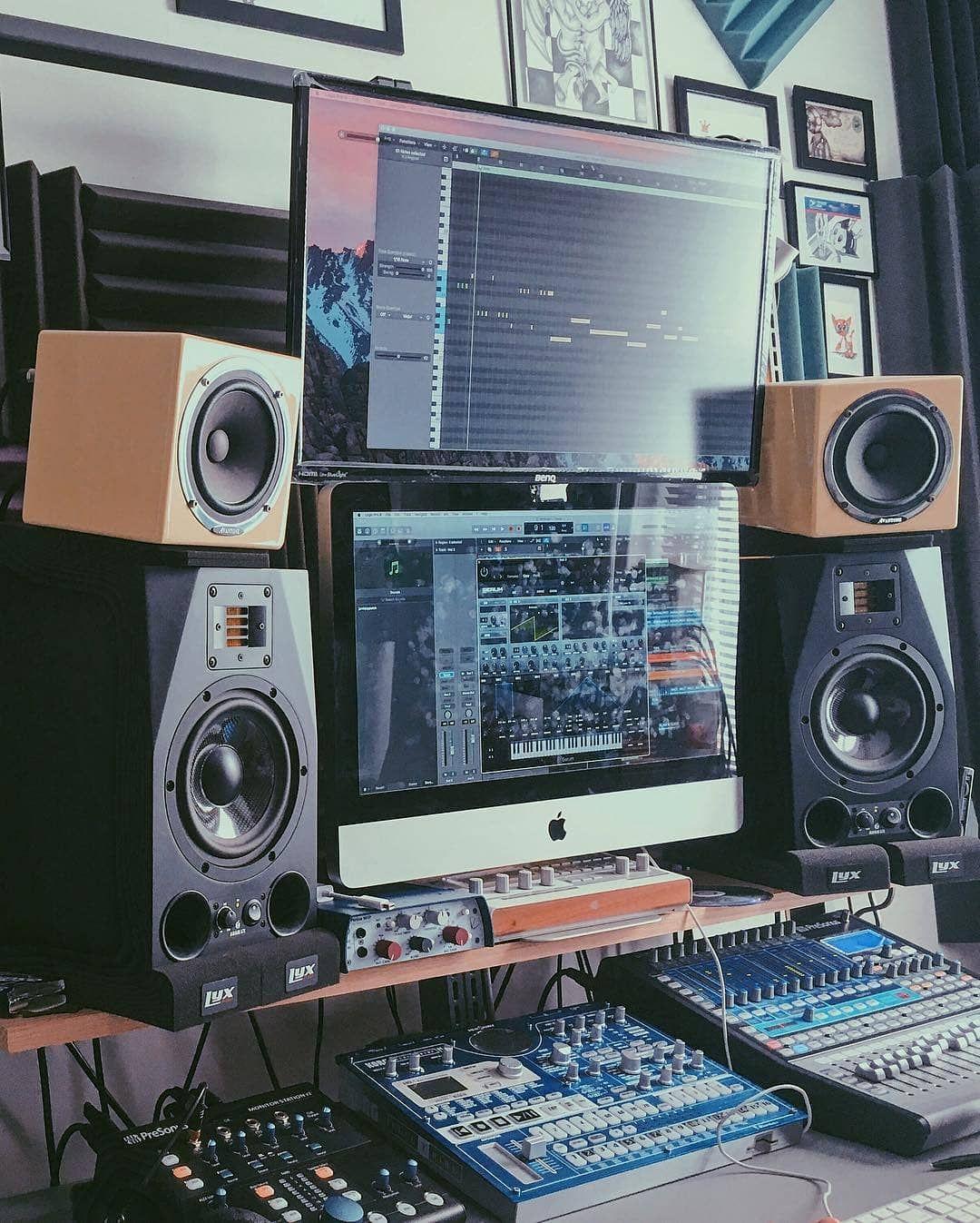 Pin de Derek en Studios  Estudio musical Produccin