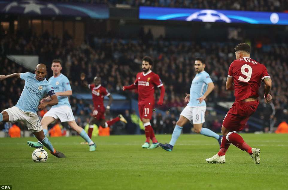 Man City 1-2 Liverpool (Agg 1-5): Salah and Firmino send Reds ...