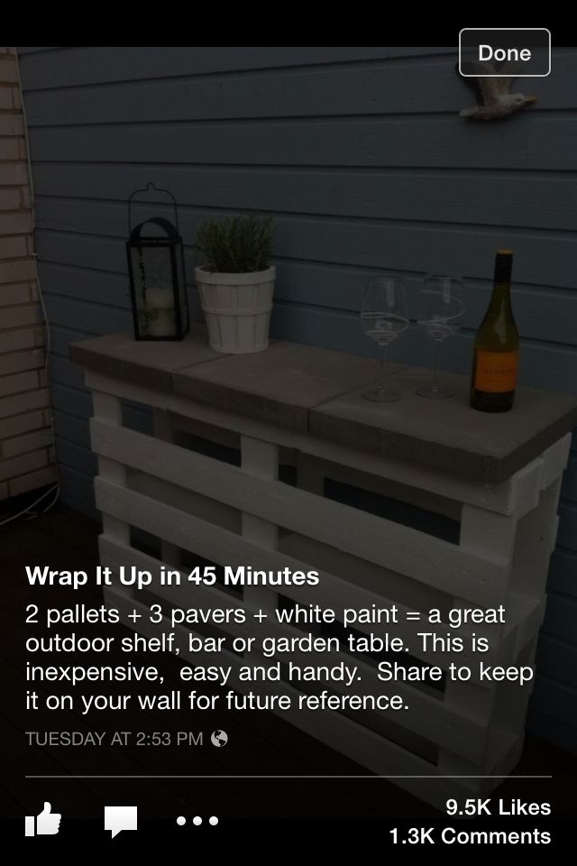 Pallet table :)