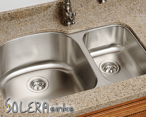 Solera Offers A Stainless Steel Double Offset Sink That Would