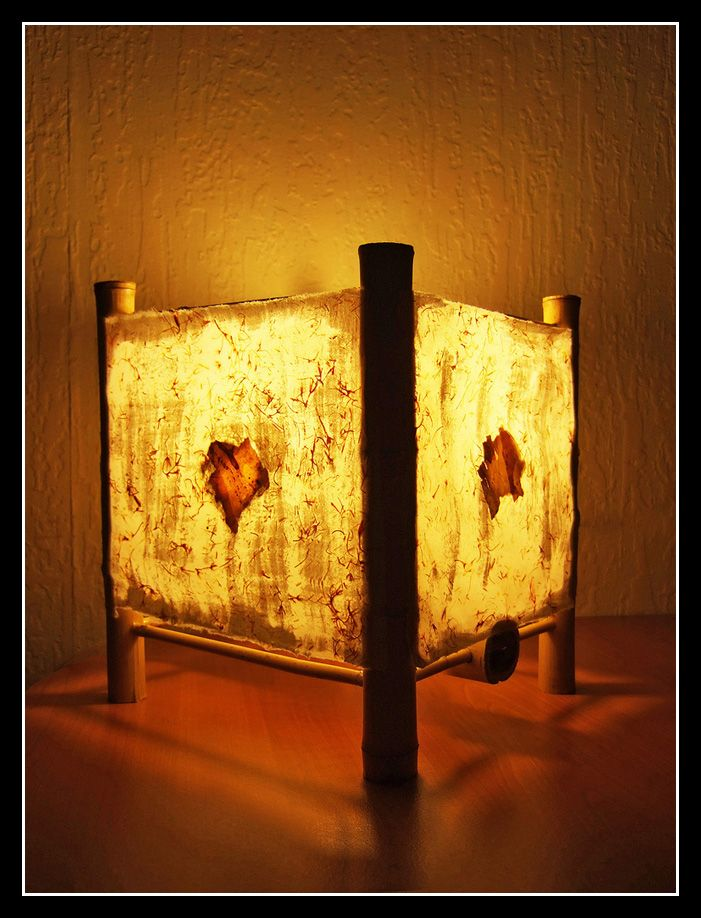Yes, The Beautifully Intricate Paper Detailing You See Here On This Paper  Lamp Shade Is Actually Homemade.