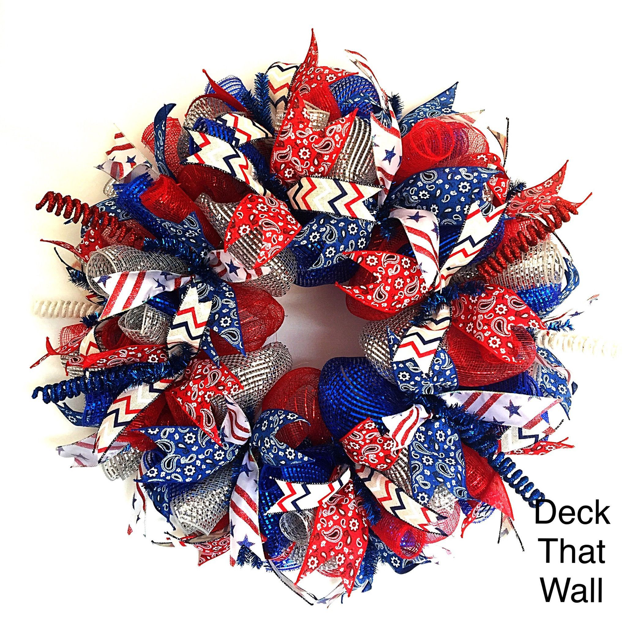 4th Of July Wreath Grapevine