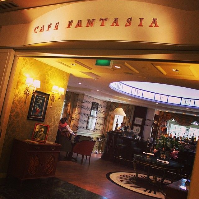 Image result for café fantasia disneyland paris