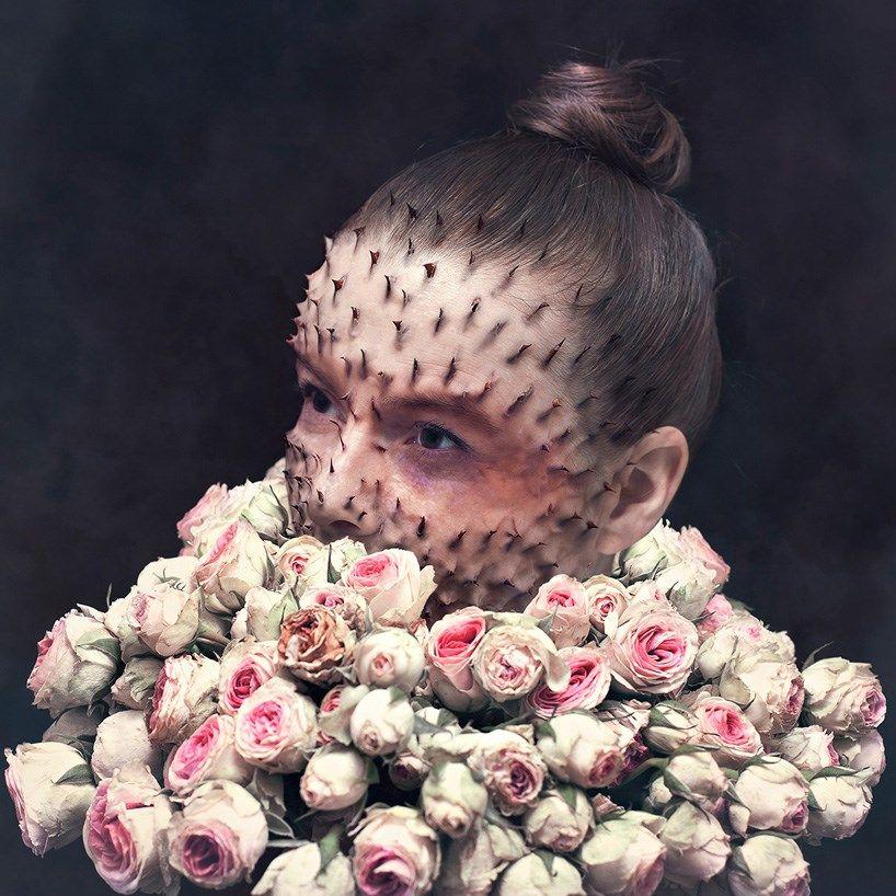 Fotógrafo mescla humanos e plantas em ensaio incrível