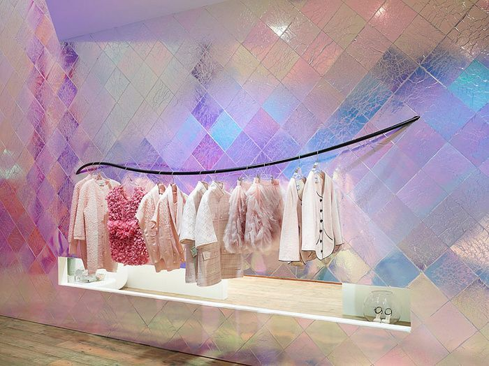 Image result for iridescent wall