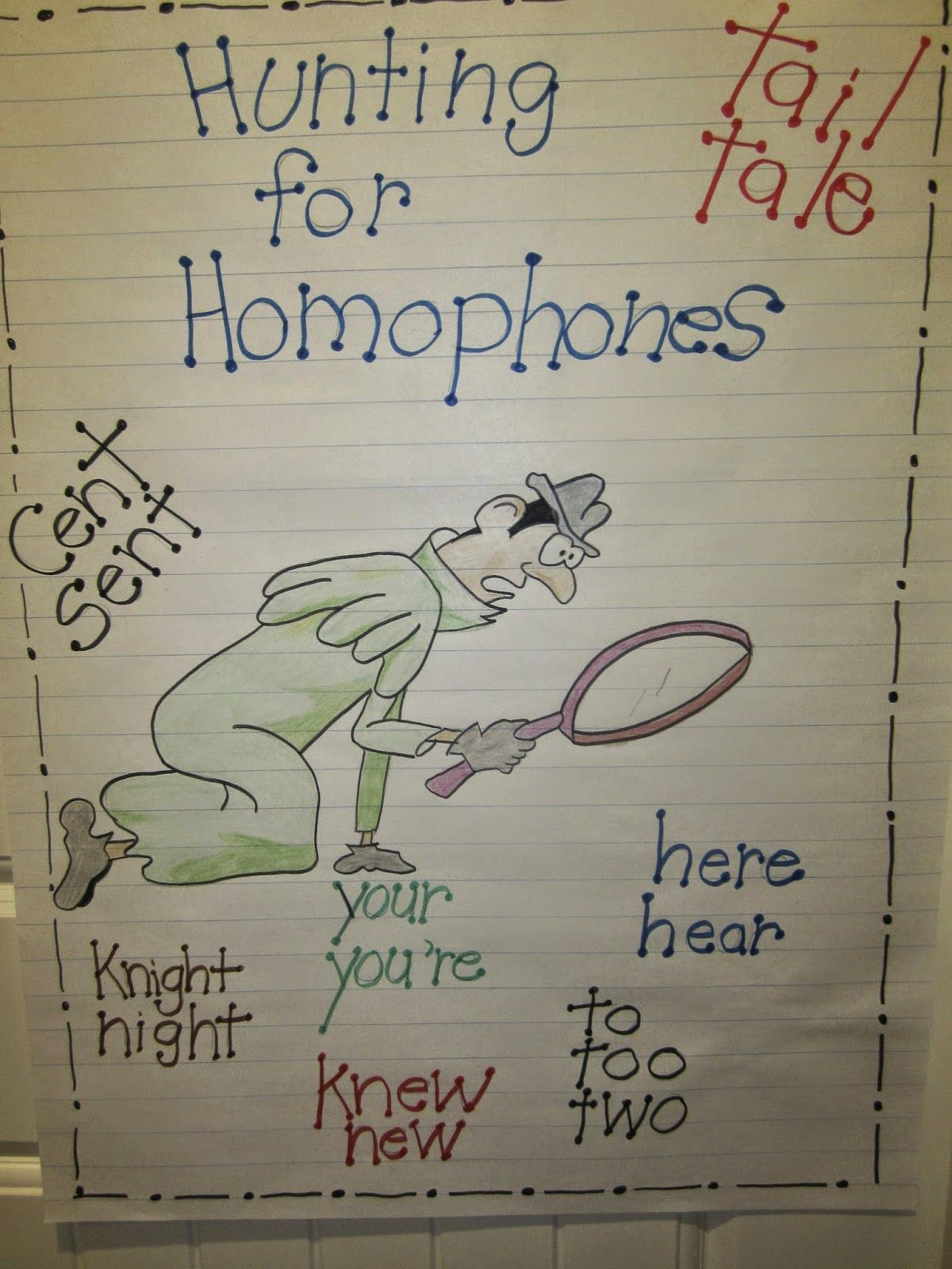 Hunting Homophones