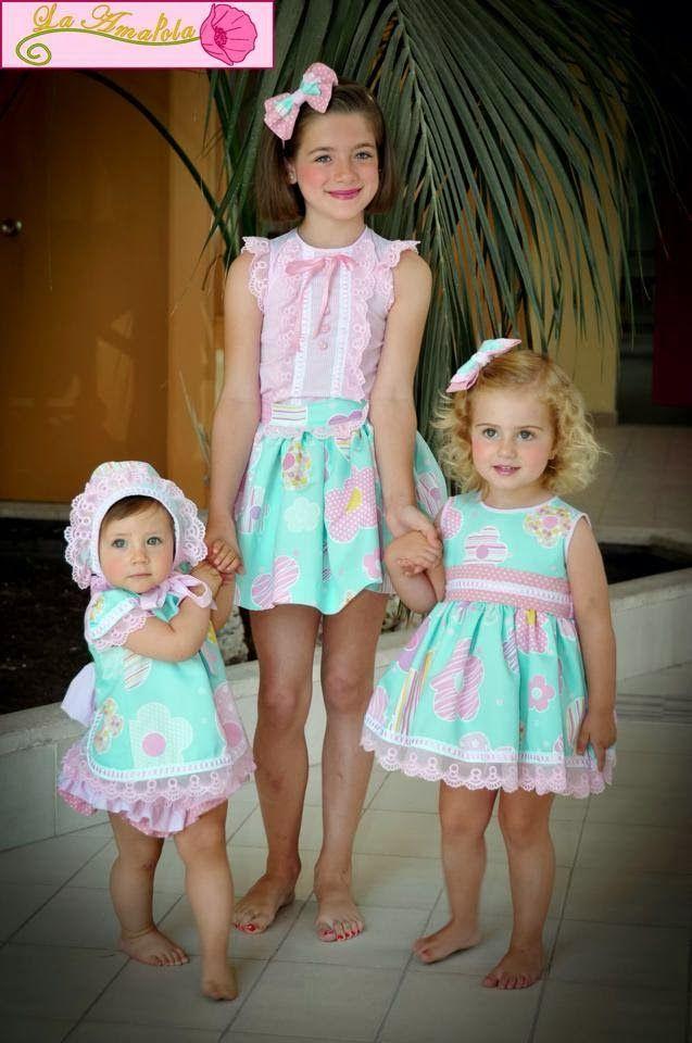 38f8cebe4 La casita de Mimi Vestidos Para Niñas Pequeñas