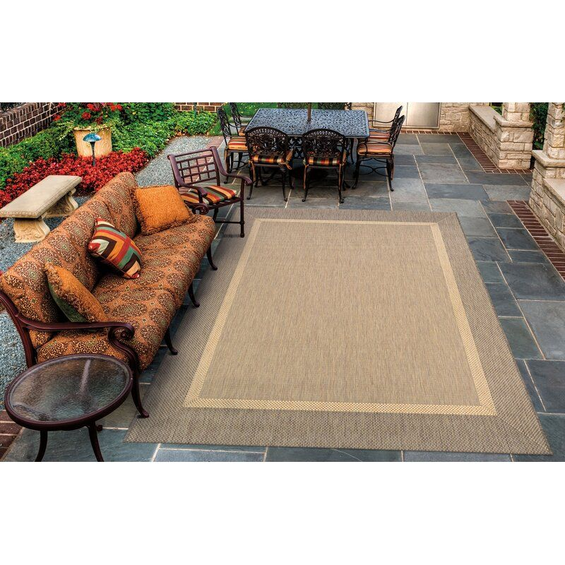 Saffold Texture Beige Brown Area Rug Reviews Allmodern Indoor Outdoor Area Rugs Outdoor Area Rugs Area Rugs