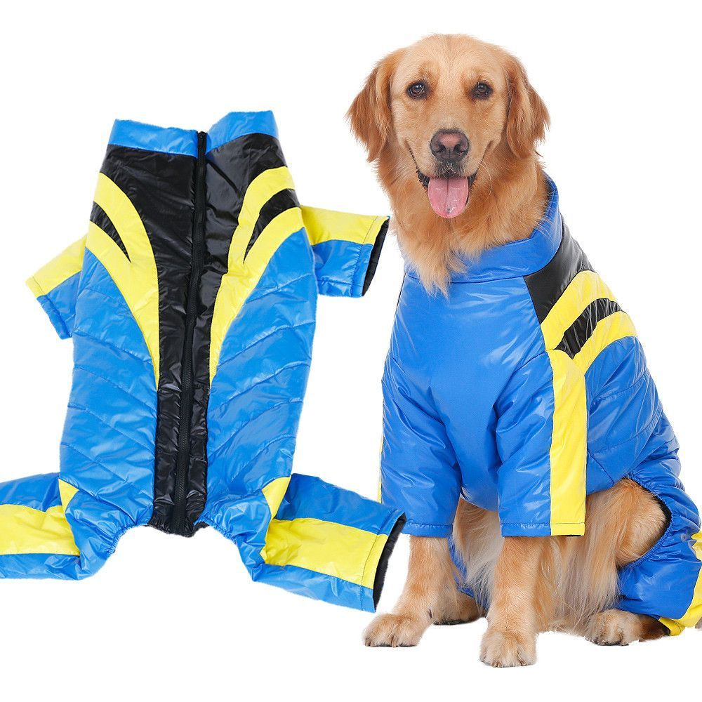Big Dog Racing Driver Down Jacket Big Dog Clothes Warm Parka Big Dogs