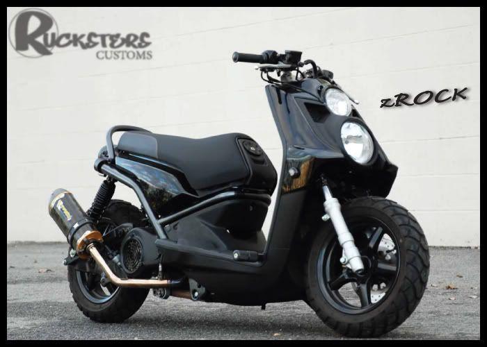 Custom Yamaha Zuma 125 | Let's Roll | Yamaha scooter, Yamaha, Mini bike