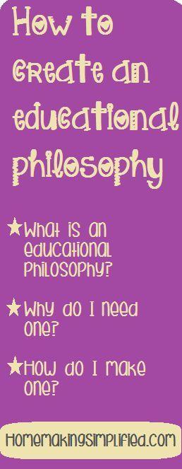 creating an educational philosophy free printables educational philosophy for classroom and homeschool teachers