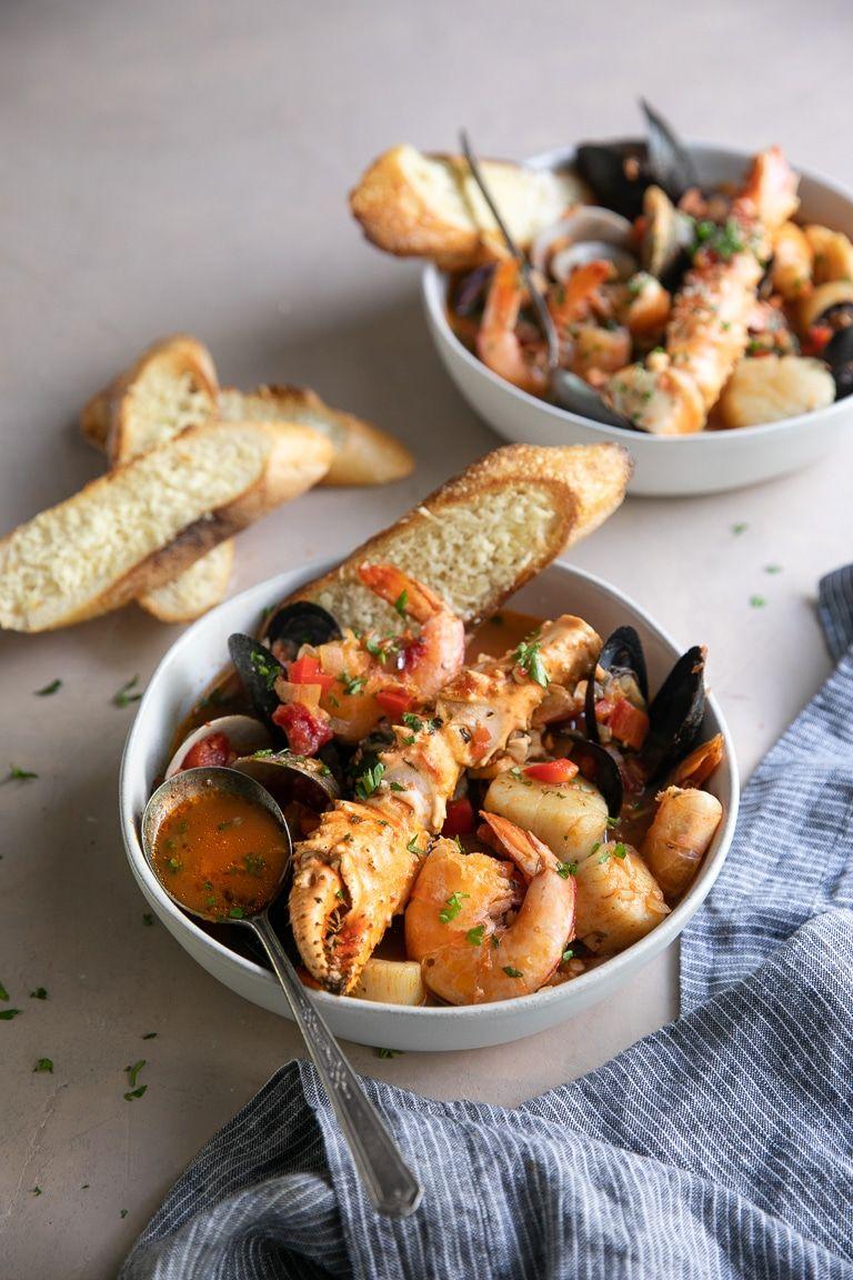 Cioppino (San Franciscan seafood stew)
