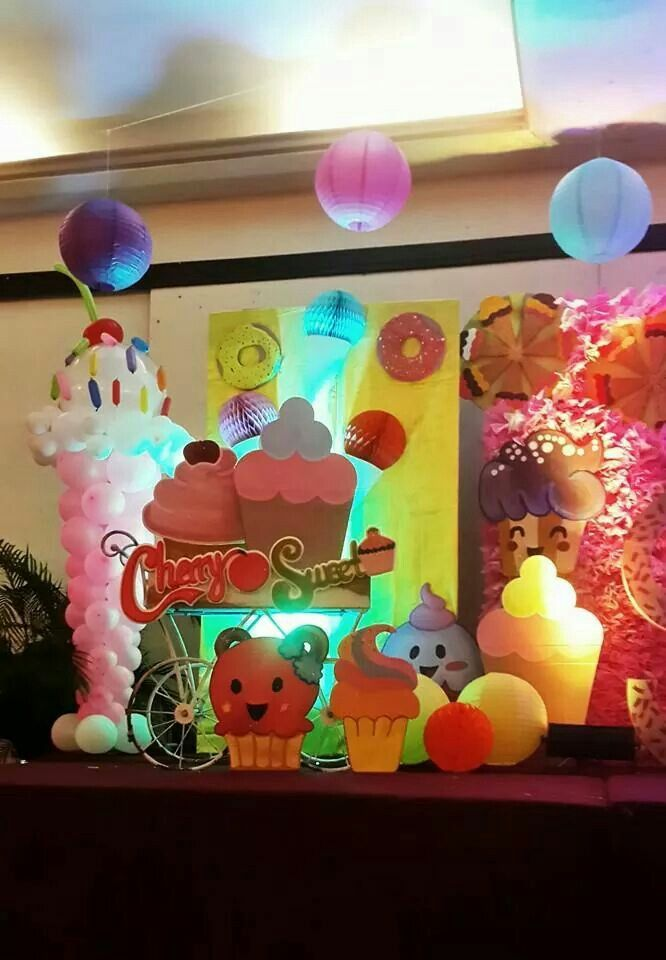Ice cream stage design