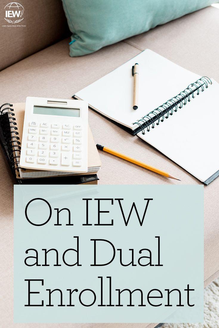 Dual enrollment is a popular option for high school