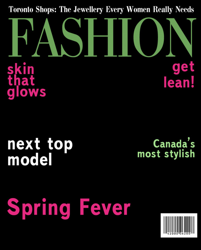 Pin On Magazine Cover Template