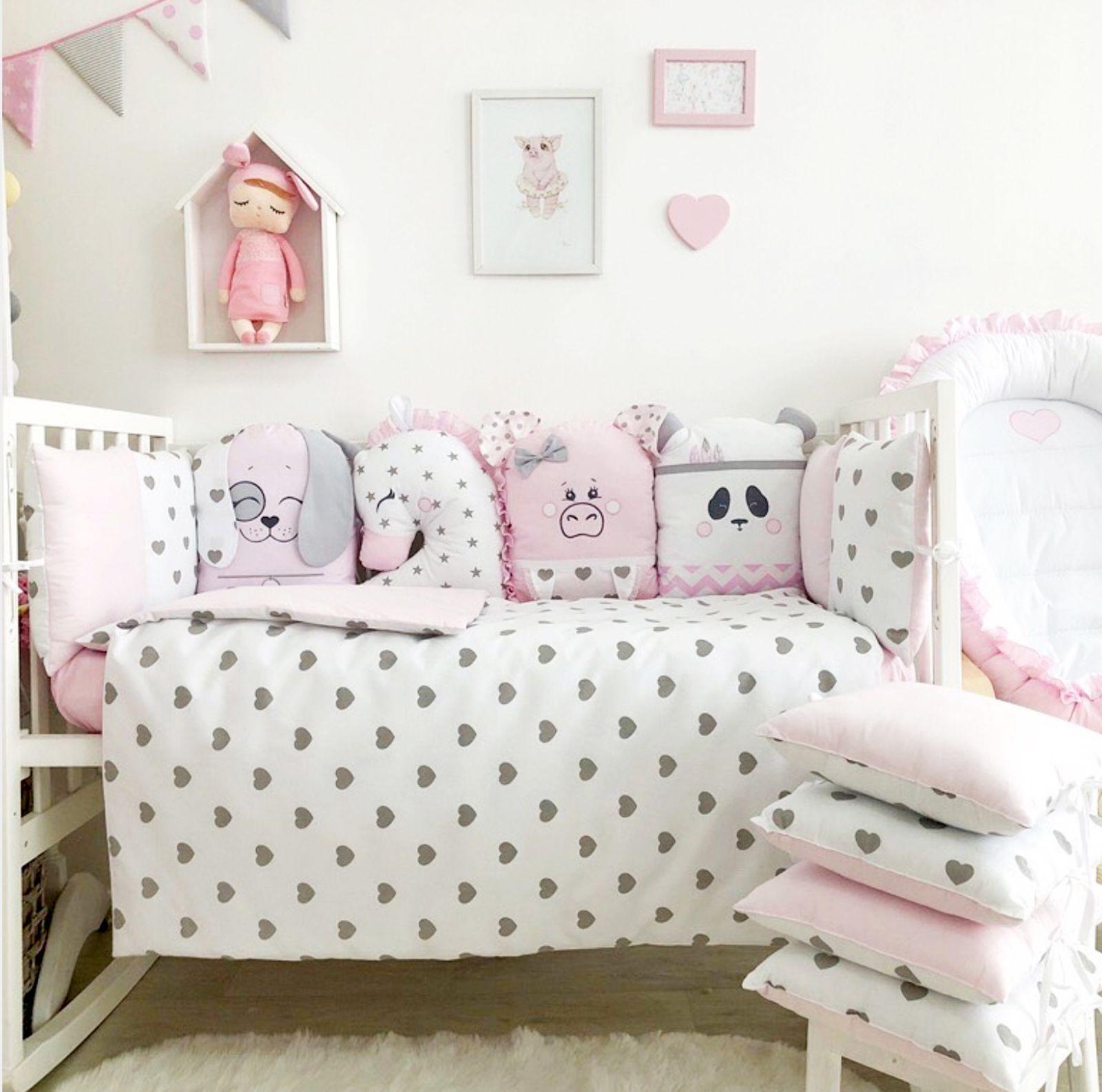 Crib Set For Girl Girl Crib Bedding Set Crib Bumper Pad Crib