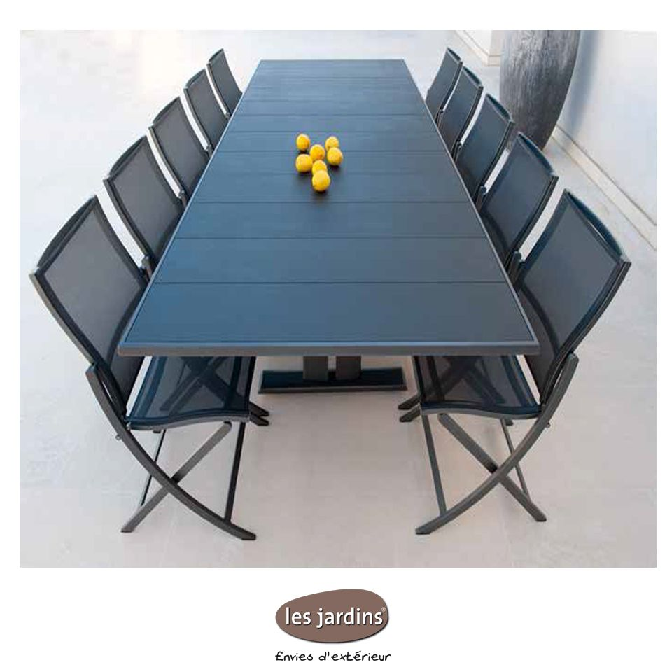 Collection KOTON - table extensible, pied central avec ...