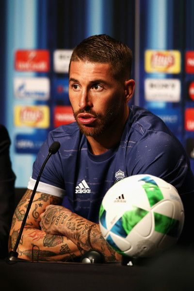 Sergio Ramos Photos Photos Real Madrid V Sevilla Uefa Super Cup Sergio Ramos Real Madrid Uefa Super Cup