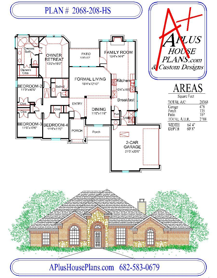 house plan 2068 208 hs traditional stone front elevation 2068 explore first story front elevation and more house plan