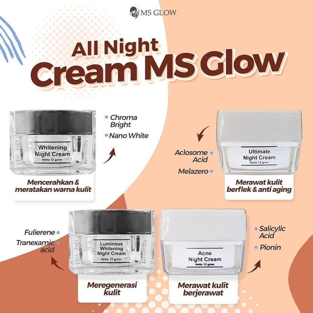 Night Cream Yang Cocok Untuk Kulit Berminyak Dan Berjerawat