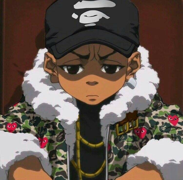 You aint gotta lie to me a nigga just want his shit - Supreme boondocks ...