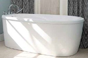 Neptune Vapora F2 Freestanding Bath This Tub Features An End